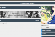tema wordpress streaming anime